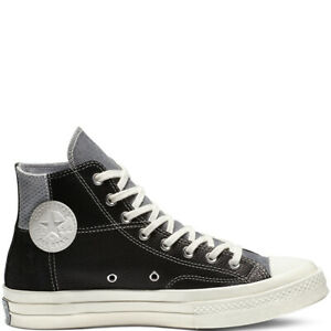 Details about Converse Chuck 70 Mixed Material High Top Shoes BlackCool Grey 163220C