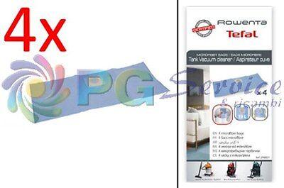 Rowenta 4 sacchetti aspirapolvere RO6355 RO6375 RO6383 RO6391 RO6432 RO6441 RO63