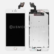 Full LCD Touch Screen Digitizer Gold Home Button Camera for iPhone 6 Plus 5.5""