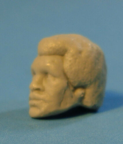 """MH257 Custom Cast Sculpt part Male head cast for use with 3.75/"""" action figures"""