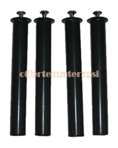 Set gambe metallo h. 20 cm ricambio rete a doghe zampe e piedi reti base letto