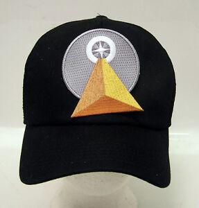 9628f39aed8 STAR TREK IDIC Logo Baseball Trucker Cap Hat w Patch (STHA-0051)