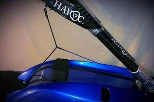 FRI Pro-Rider Jetski Hand Pole Limiting Rope Kit,Yamaha Superjet, Rickter, Krash