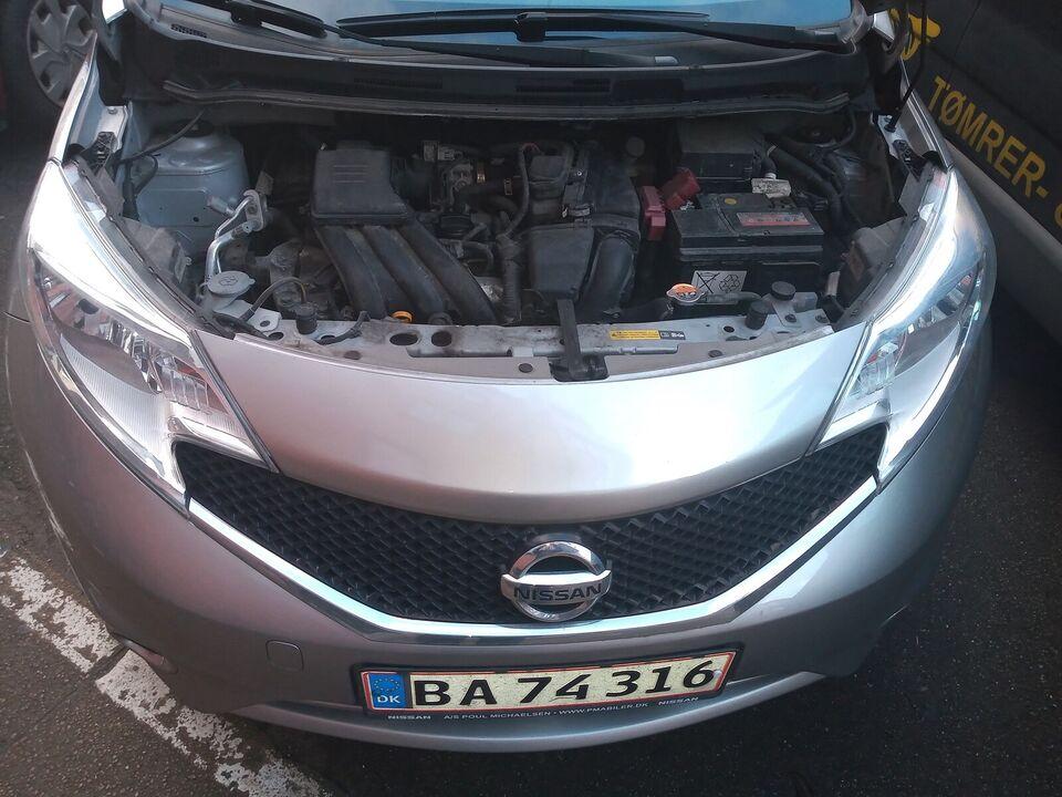 Nissan Note, 1,2 Acenta Tech, Benzin Top Udstry...