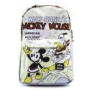 Loungefly-Disney-Mickey-Mouse-Donald-Duck-Hawaien-Vacances-Sac-a-Dos-WDBK0498