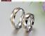 Couple-Rings-Stainless-Steel-silver-based-Gold-line-Promise-wedding-rings-gift 縮圖 6