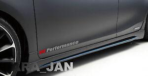 V6 SPORT Vinyl Decal racing speed car emblem logo skirt door sticker SILVER//RED