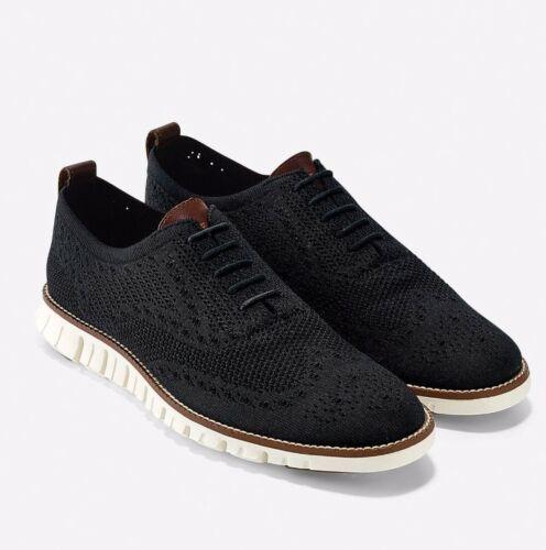 Cole Haan Men/'s Zerogrand Stitchlite Wingtip Oxford Shoes Black Sizes 8.5-13