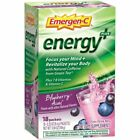 Emergen-C Energy Plus 250mg Energy Drink Mix, 0.33oz - 18 Pack