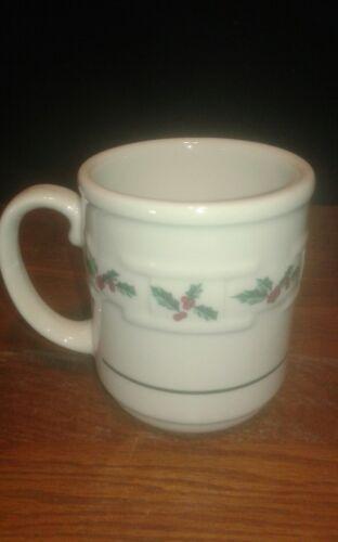 "Longaberger /""Woven Traditions Holly/"" Mug"