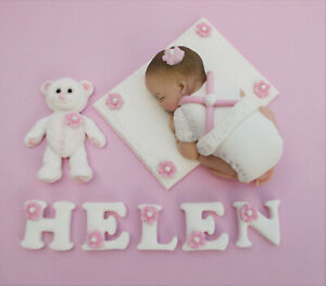 Edible-baby-Christening-cake-topper-decoration-Edible-Baby-shower-cake-topper