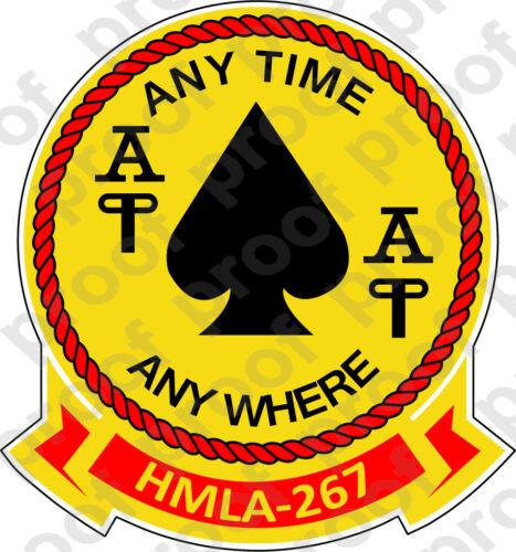 STICKER USMC HMLA 267 STINGERS   ooo   USMC Lisc No 19172
