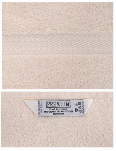 Betz 10er Pack Waschhandschuhe Premium Royalblau /& Beige Größe 16x21 cm
