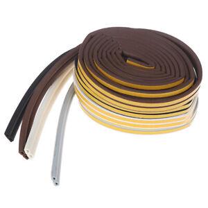 6M-D-Type-Self-Adhesive-Seal-Strips-Foam-Window-Door-Avoidance-Seal-Collision-3C