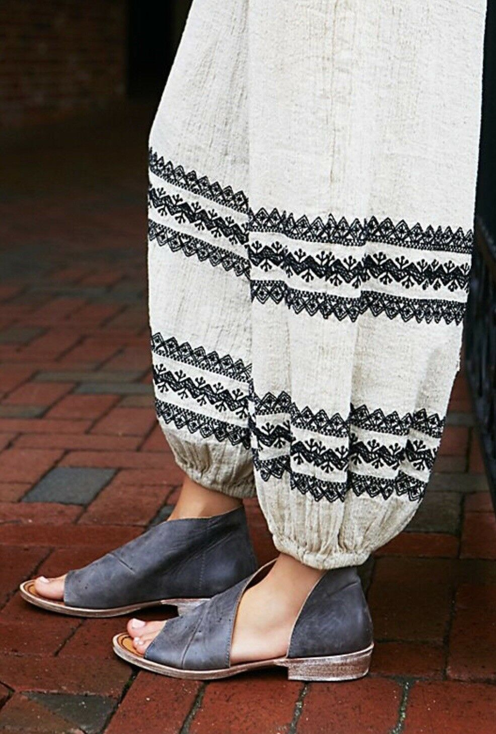 Free people Mont white Sandal Size 38 Zinc