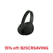 Sony WH-CH710N/B Wireless Bluetooth Noise Cancelling Headphones