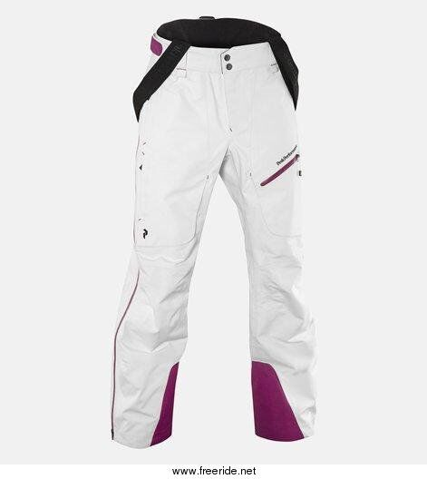 Peak Performance Heli Alpine GoreTex 3 layer Pro Shell pant, White, XS