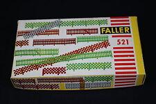 W038 FALLER Train Maquette 521 lot barriere cloture plastique decor diorama