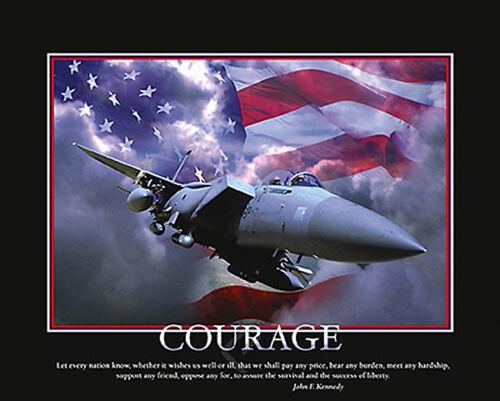 MOTIVATIONAL ART PRINT Courage