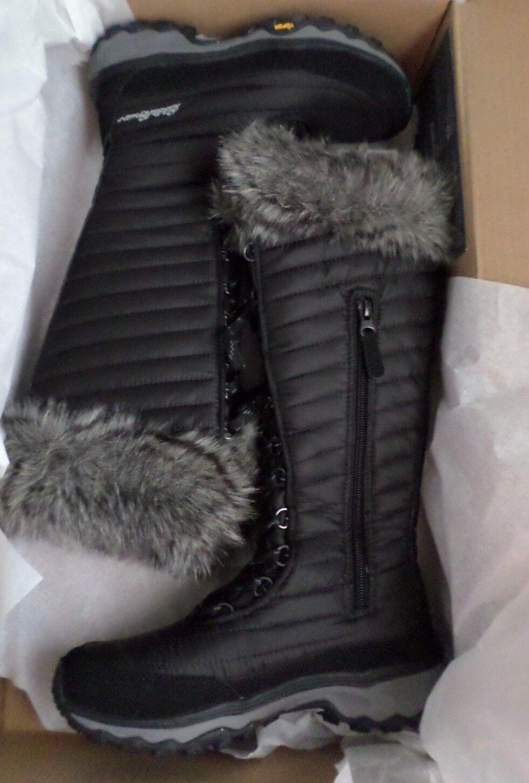 NEW Eddie Bauer Women's Micredherm Tall Winter Boot Faux Fur 6.5