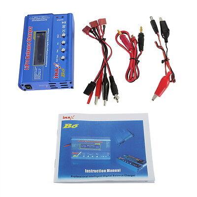 iMAX B6 Lipo NiMh Li-ion Ni-Cd RC Battery Balance Digital Charger Discharger FE