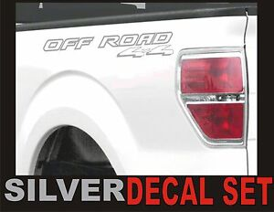 4x4 OFF ROADTruck Bed Decals GOLD METALLIC Set for Ford F-150 /& Super Duty