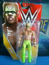 Sting - Basic Series 62 - New Boxed WWE Mattel Wrestling Figure