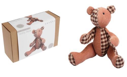 Make Your Own Teddy Jouet Kit de couture 21x15cm de TRIMMITS contient tout ce dont vous avez besoin