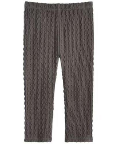 24 MOS $13 TINI {/&} First Impressions Infant Girl Textured Dark Gray Legging 18