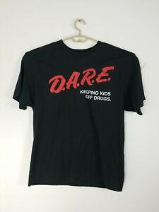 Tye Dye Logo Keeping Kids Off Drugs T-Shirt Dare D.A.R.E