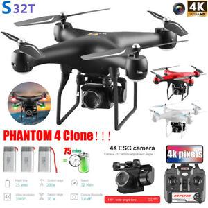 DJI-PHANTOM-4-Clone-Drone-x-pro-With-4K-HD-Camera-Wifi-APP-FPV-RC-Quadcopter-FL