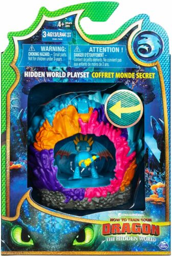 Toy Toothless Lightfury Play How to Train your Dragon Hidden World Lair Ages 4