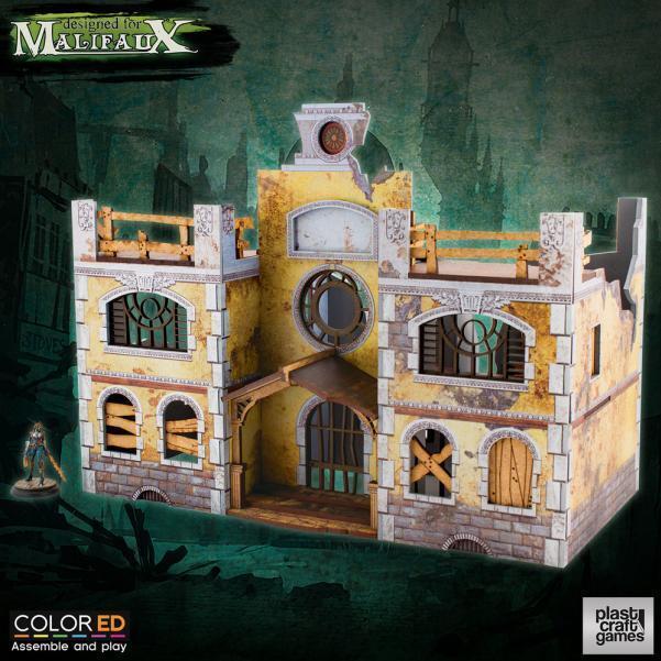suministro de productos de calidad Plast Craft Craft Craft Juegos Colorojo Malifaux Sanitarium Terrain box new  gran venta