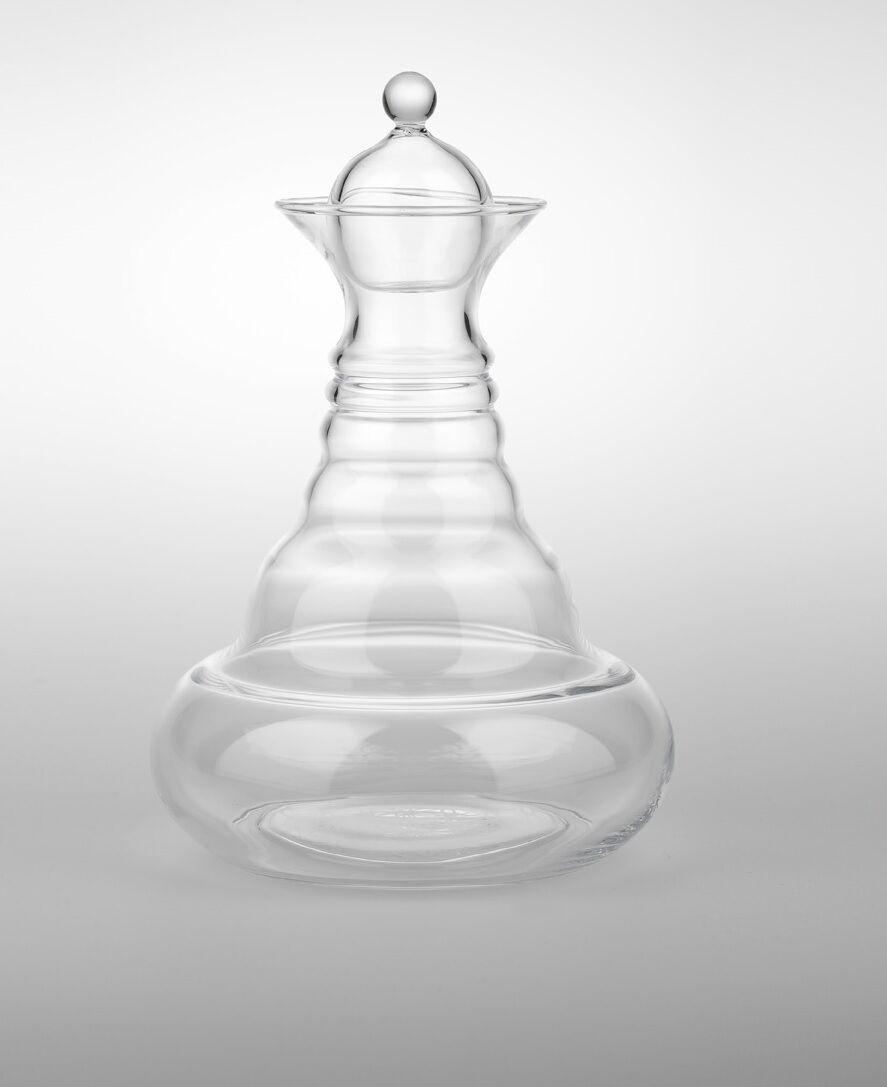 blanc ALLADIN-Vital Carafe avec Bouchon-Blanche Fleur de la vie 1.3 L