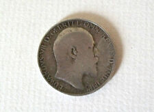 1907 Edward VII Florin Two Shillings Coin; Old album collection!