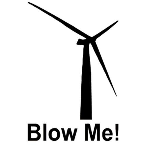 Blow Me Windmill Sticker Car Window Door Bumper Truck Vinyl Decal Wall Decor
