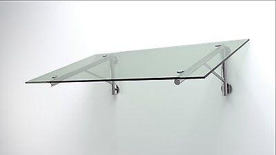 Ausdauernd Glas Vordach Haustür Edelstahl 1,6 X 1,1m X 14mm Vsg Baustoffe & Holz Heimwerker