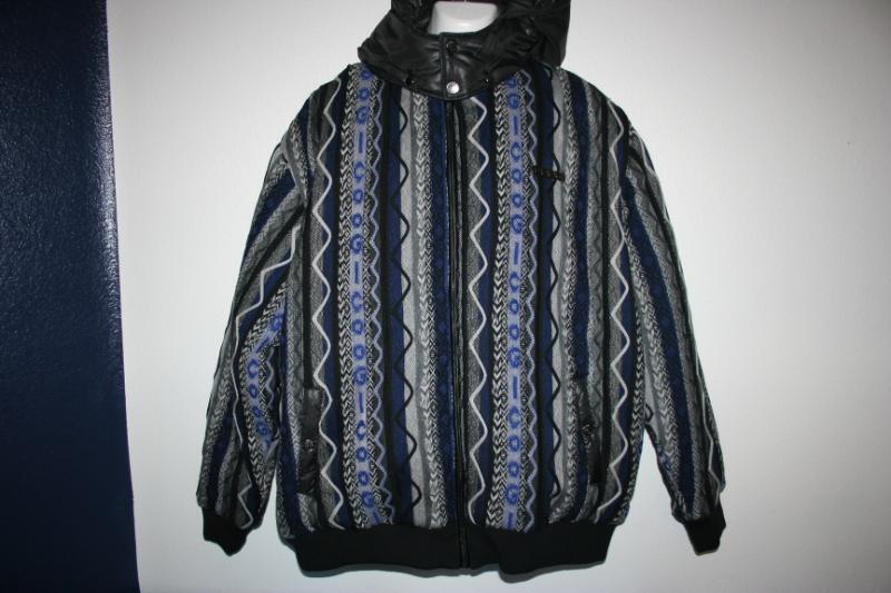 New Coogi 4XL 4XB 4XB 4XB 4X 5XL 5XB 5X 6XL 6XB 6X Sweater Print Fashion Jacket Coat 61e