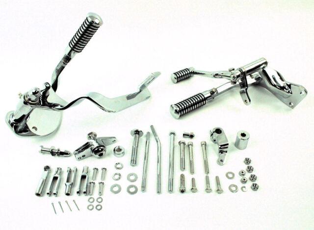 Chrome Forward Controls Control Kit Footpegs Foot Pegs 91-03 Harley Sportster XL