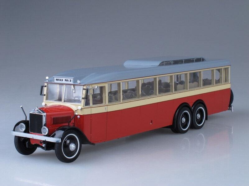 1 43 YaA-2 YaGAZ  Giant  USSR Bus 1934 rot UM43-A4 2 ULTRA Models