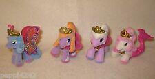++  4 x Filly - Figuren / Pferde / Fantasy / Glitzer - Pony ++Hhj
