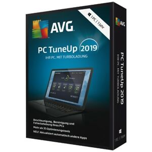 AVG PC TuneUp 2019 * 1 PC 1 Jahr * Vollversion Lizenz