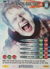 DOCTOR WHO<>BATTLES IN TIME TRADING CARD<>TENTH DOCTOR (frozen)<>CARD No. 448