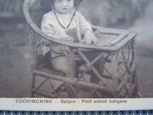 Carte Postale Cochinchine Saïgon Petit Enfant Indigènes 9ur0a9md-10131909-906900095