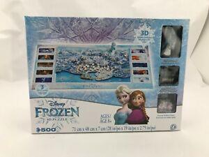 Disney-Frozen-4D-Puzzle-500-Piece-3D-Models-included-SH20