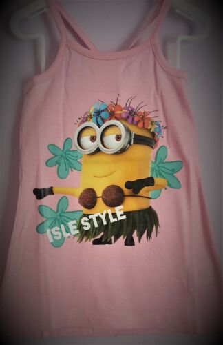 Minions Cross Strap Summer Dress Pink /& Magenta Dave Despicible Me T2TC237