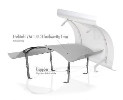Diszipliniert Schornsteinabdeckung Kaminabdeckung Kaminhaube Edelstahl 600x600 1mm Qualität Attraktiv Und Langlebig Fürs Dach