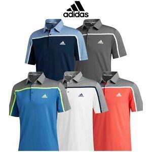 adidas-Ultimate-365-Colourblock-Golf-Polo-Shirt-New-For-2020