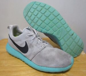 72279a16f39b3 shopping nike roshe all mint shoes 16096 3c91c  top quality image is  loading rare nike roshe run one calypso grey mint d716f 52569
