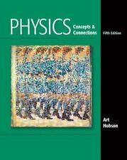 Physics: Concepts and Connections (5th Edition), Hobson, Art, Good Book